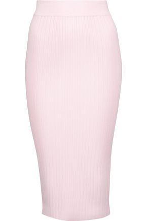 CUSHNIE ET OCHS Ribbed-knit pencil skirt