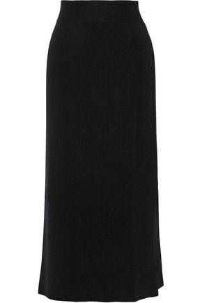 A.L.C. Emmanuelle stretch cotton-blend midi skirt