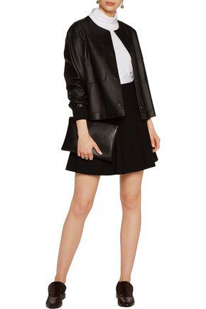 THEORY Abrilin stretch-jersey mini skirt