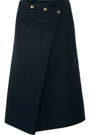 ATLANTIQUE ASCOLI Felted-cotton skirt
