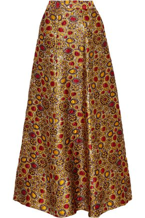 ALICE+OLIVIA Terilyn brocade maxi skirt