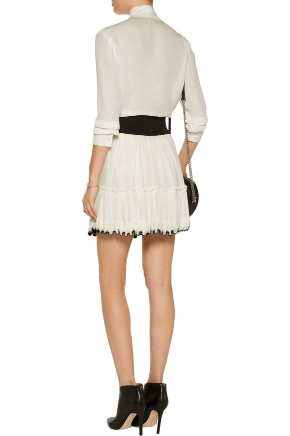 Rena tiered beaded cotton-voile mini skirt | ISABEL MARANT | Sale up to 70%  off | THE OUTNET