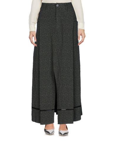Фото - Длинная юбка от OBLIQUE CREATIONS свинцово-серого цвета