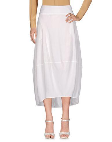 Фото - Длинная юбка от OBLIQUE CREATIONS белого цвета