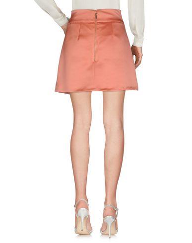 Фото 2 - Мини-юбка от ELISABETTA FRANCHI GOLD ржаво-коричневого цвета
