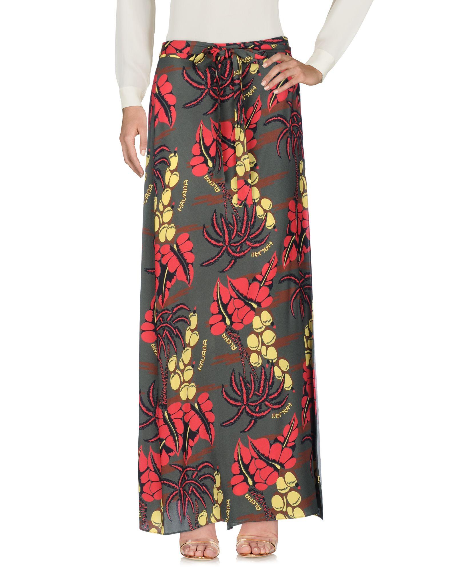 P.A.R.O.S.H. Длинная юбка павлово посадский шелк