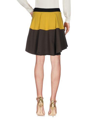 Фото 2 - Мини-юбка от JIJIL цвет охра