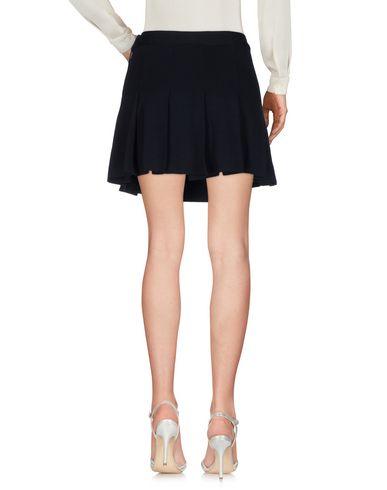 Фото 2 - Мини-юбка темно-синего цвета