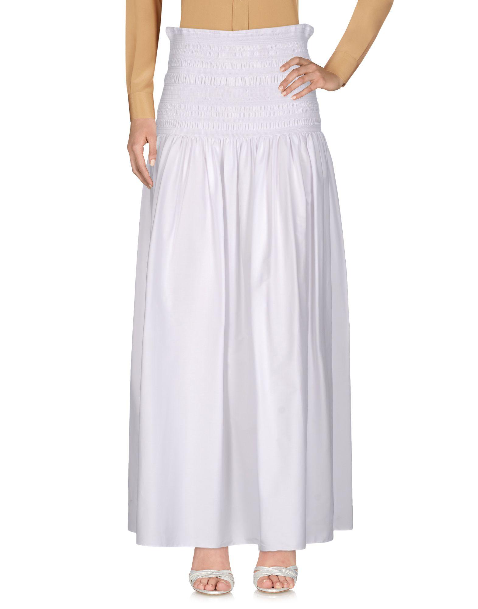 THE ROW Длинная юбка the row шелковая юбка