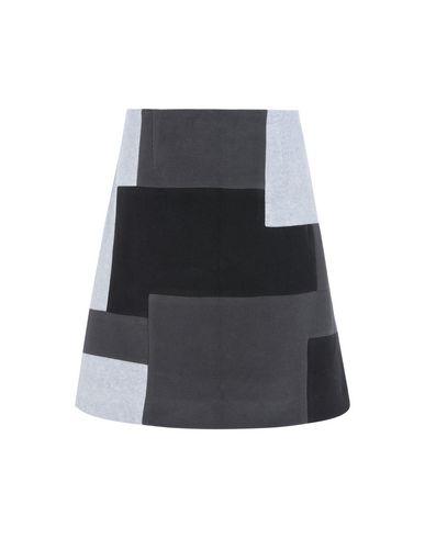 Купить Юбку до колена от CHRISTOPHER RAEBURN серого цвета