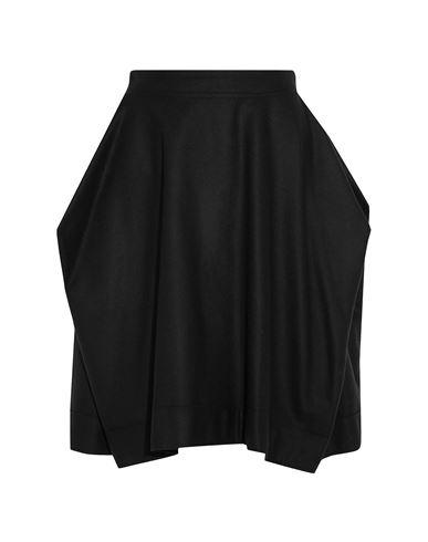 Фото - Юбку до колена от VIVIENNE WESTWOOD ANGLOMANIA черного цвета