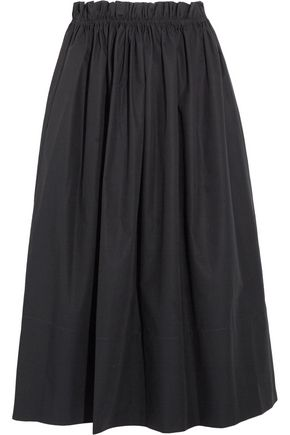 CHLOÉ Cotton-poplin midi skirt
