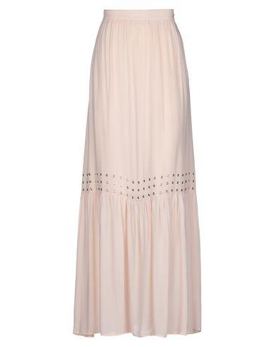 Фото - Длинная юбка от ANNARITA N TWENTY 4H светло-розового цвета