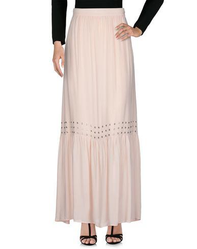 Фото 2 - Длинная юбка от ANNARITA N TWENTY 4H светло-розового цвета
