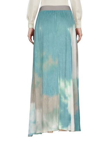 Фото 2 - Длинная юбка от JIJIL зеленого цвета