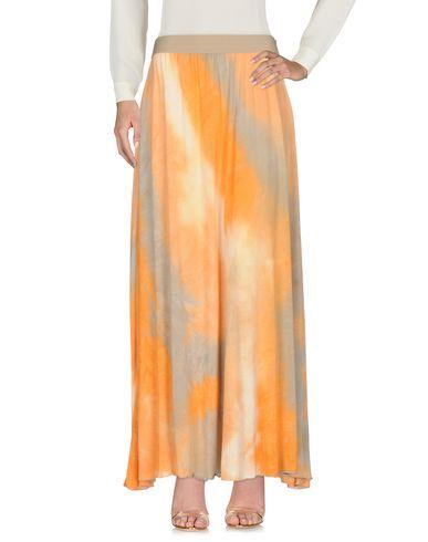 Фото - Длинная юбка от JIJIL оранжевого цвета