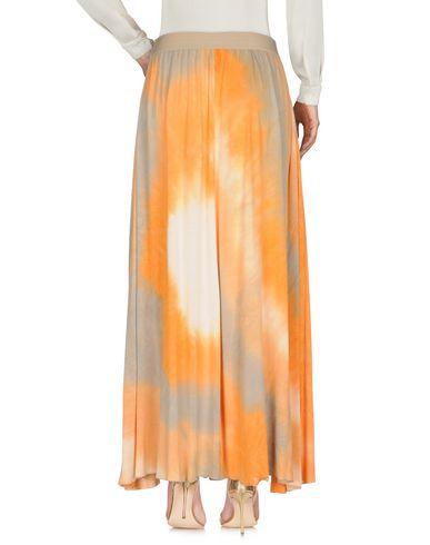 Фото 2 - Длинная юбка от JIJIL оранжевого цвета