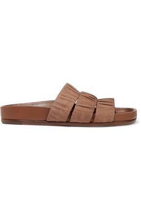 RICK OWENS Leather slides
