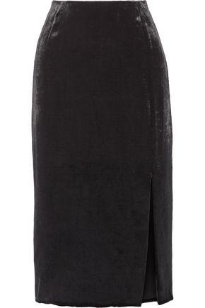 JASON WU Velvet midi skirt
