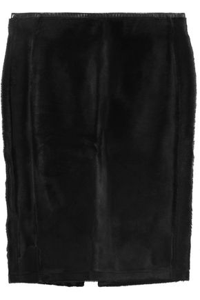 ROBERTO CAVALLI Calf hair skirt