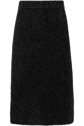 CALVIN KLEIN COLLECTION Lurex midi skirt