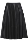 DROMe Pleated leather skirt