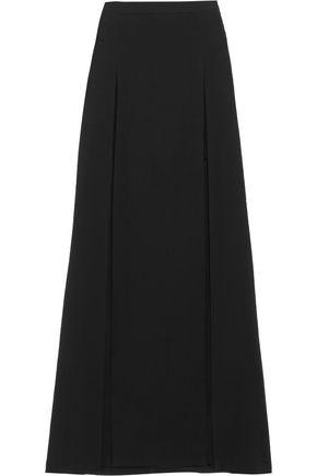 CHALAYAN Layered crepe maxi skirt