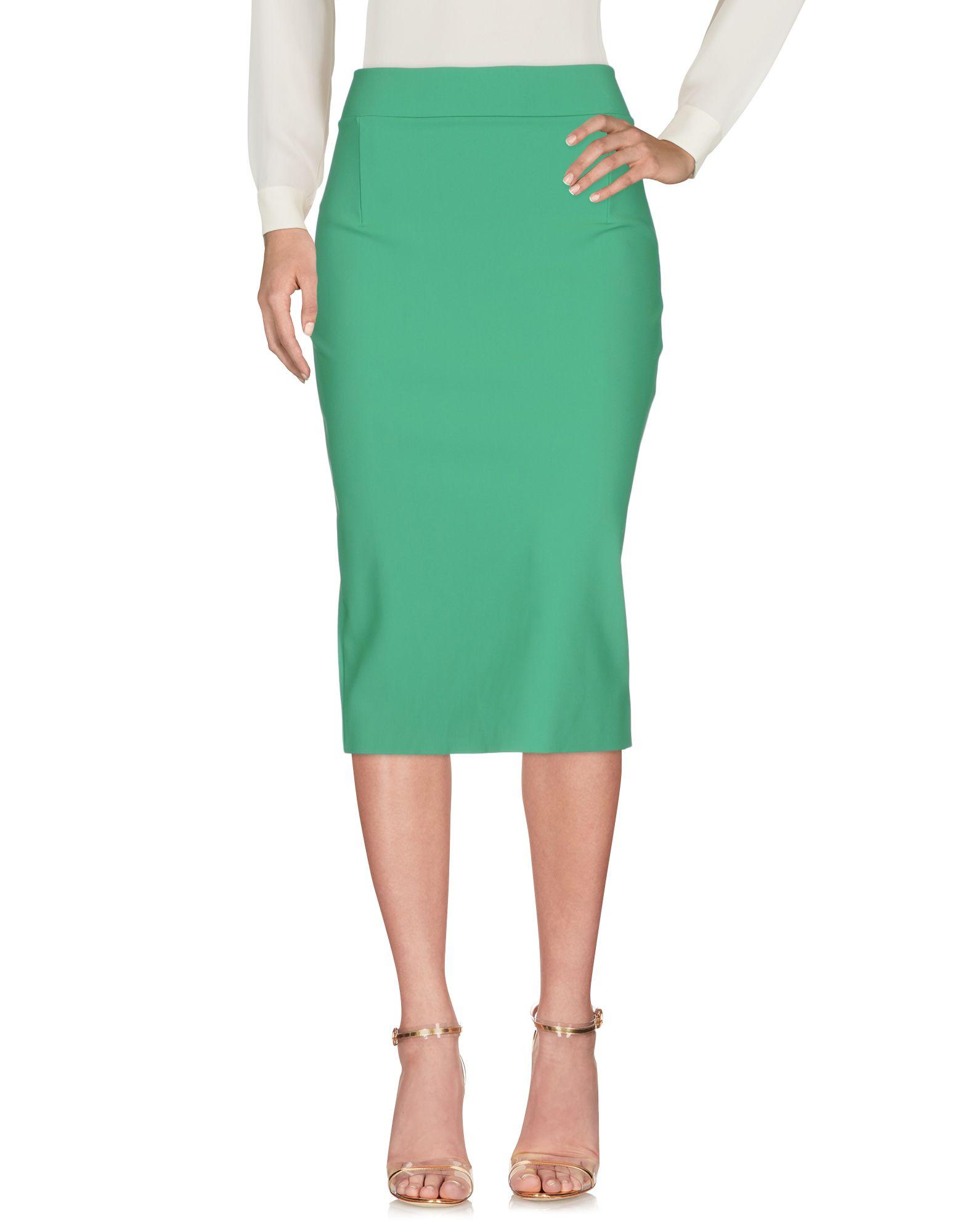 CHIARA BONI LA PETITE ROBE Damen Midirock Farbe Grün Größe 4