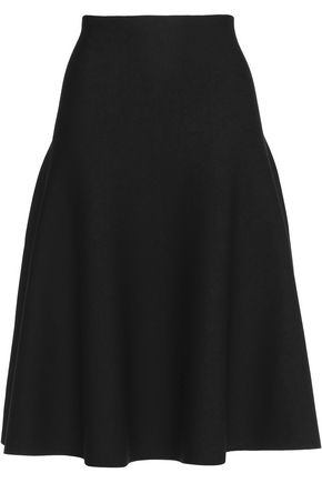 ALEXANDER WANG Stretch-knit midi skirt