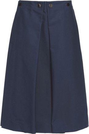 JIL SANDER Cotton-canvas skirt