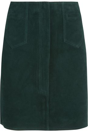M.I.H JEANS Coda suede mini skirt