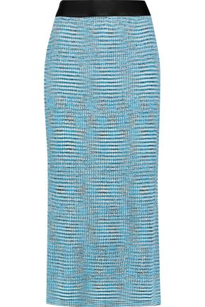 ELLERY Stretch-knit midi skirt