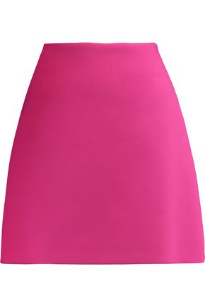 LANVIN Cotton-blend crepe mini skirt