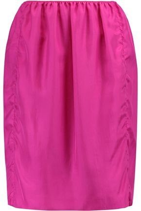 LANVIN Silk mini skirt