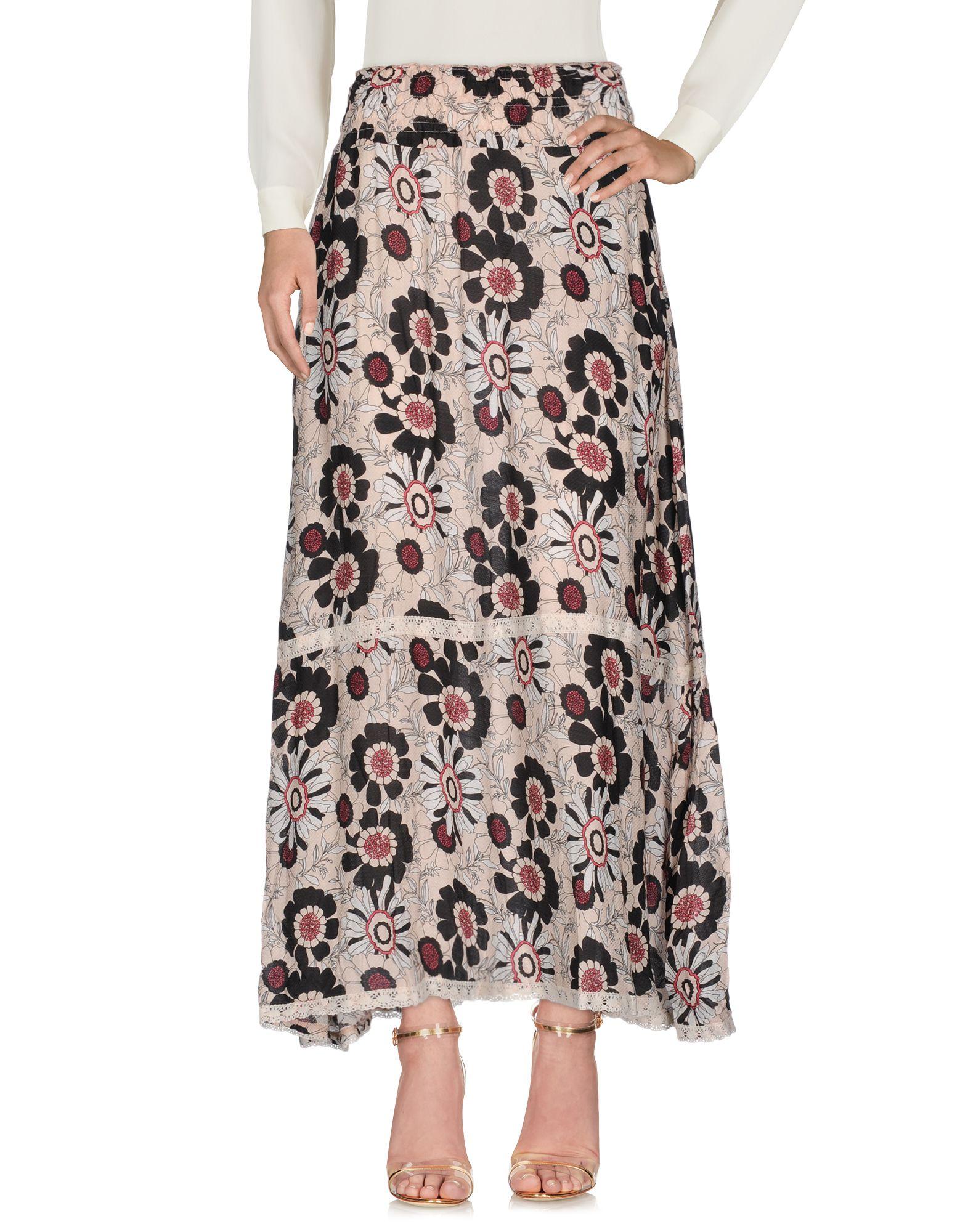 CAFèNOIR Длинная юбка augustin teboul длинная юбка