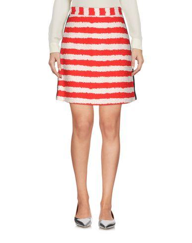 Фото - Мини-юбка от MSGM красного цвета