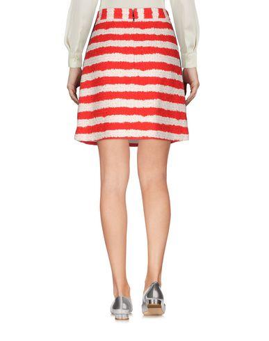 Фото 2 - Мини-юбка от MSGM красного цвета