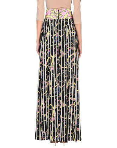 Фото 2 - Длинная юбка черного цвета