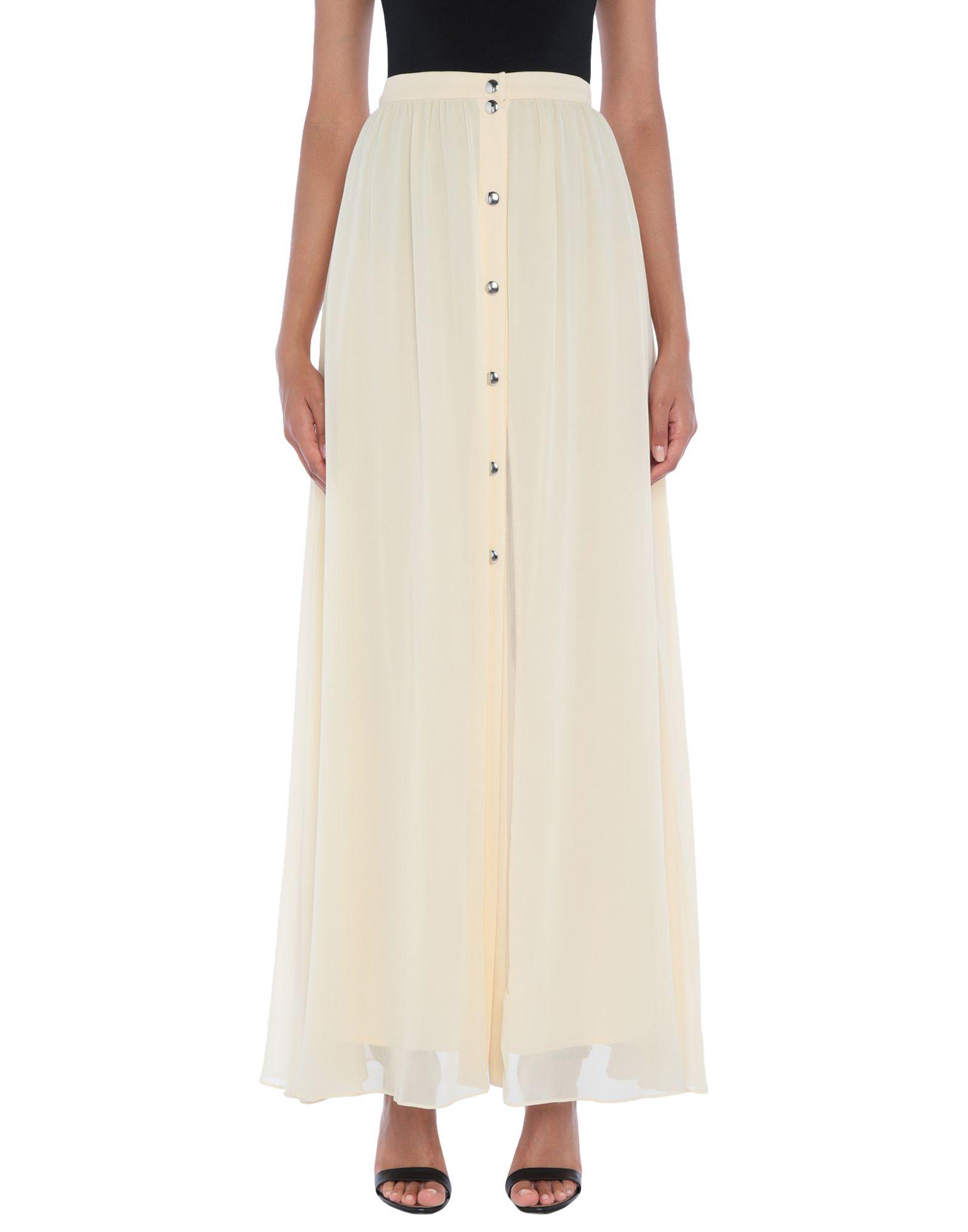 PINKO Длинная юбка юбка с запахом на пуговицах