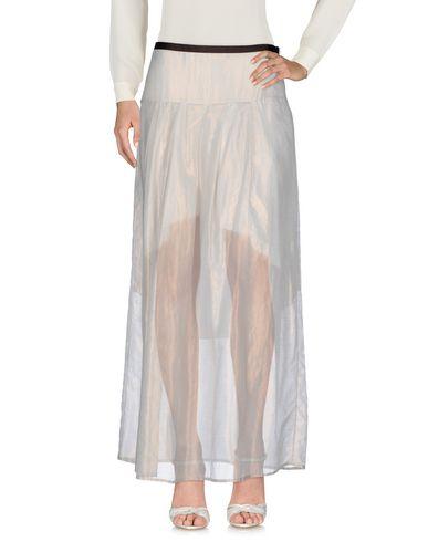 Купить Длинная юбка светло-серого цвета
