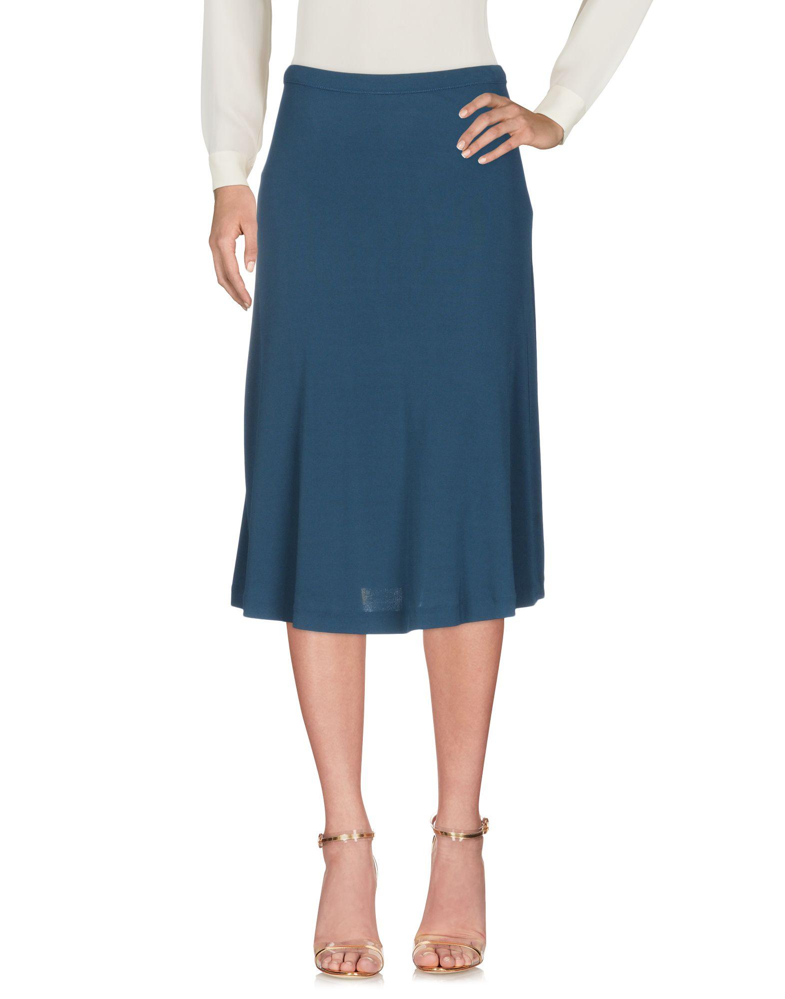 ALPHA STUDIO Юбка длиной 3/4 alpha massimo rebecchi платье длиной 3 4