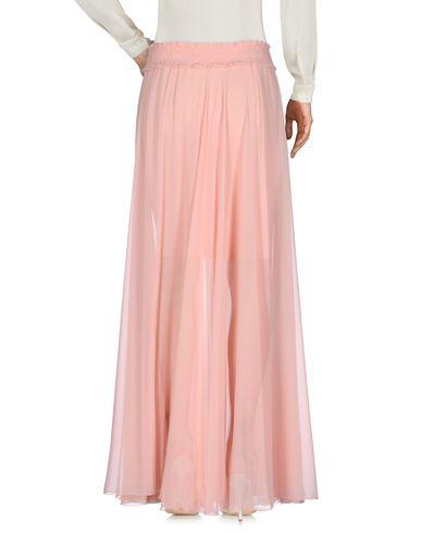Фото 2 - Длинная юбка розового цвета