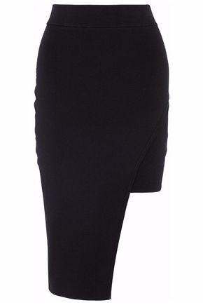 NICHOLAS Asymmetric knitted skirt