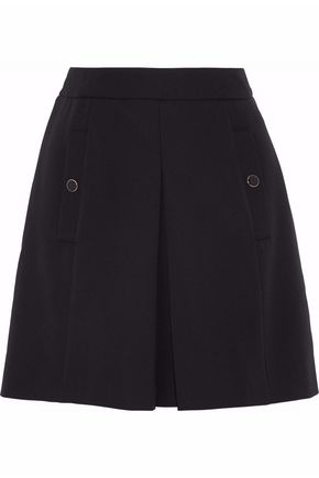 VANESSA SEWARD Pleated wool mini skirt
