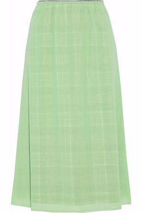 MAISON MARGIELA Frayed virgin wool skirt