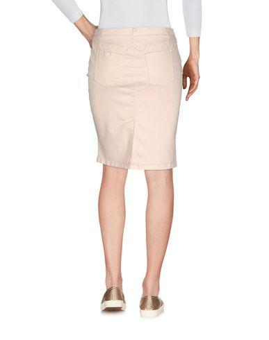 Фото 2 - Джинсовая юбка от AT.P.CO бежевого цвета
