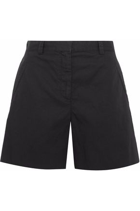 MAISON MARGIELA Cotton and linen-blend twill shorts