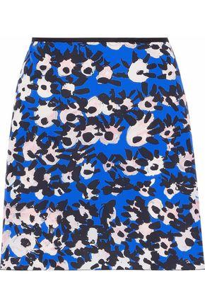 MARNI Printed shell mini skirt