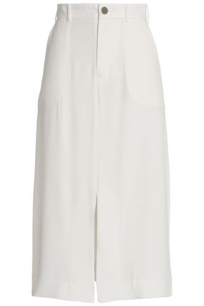 ZIMMERMANN Crepe midi skirt