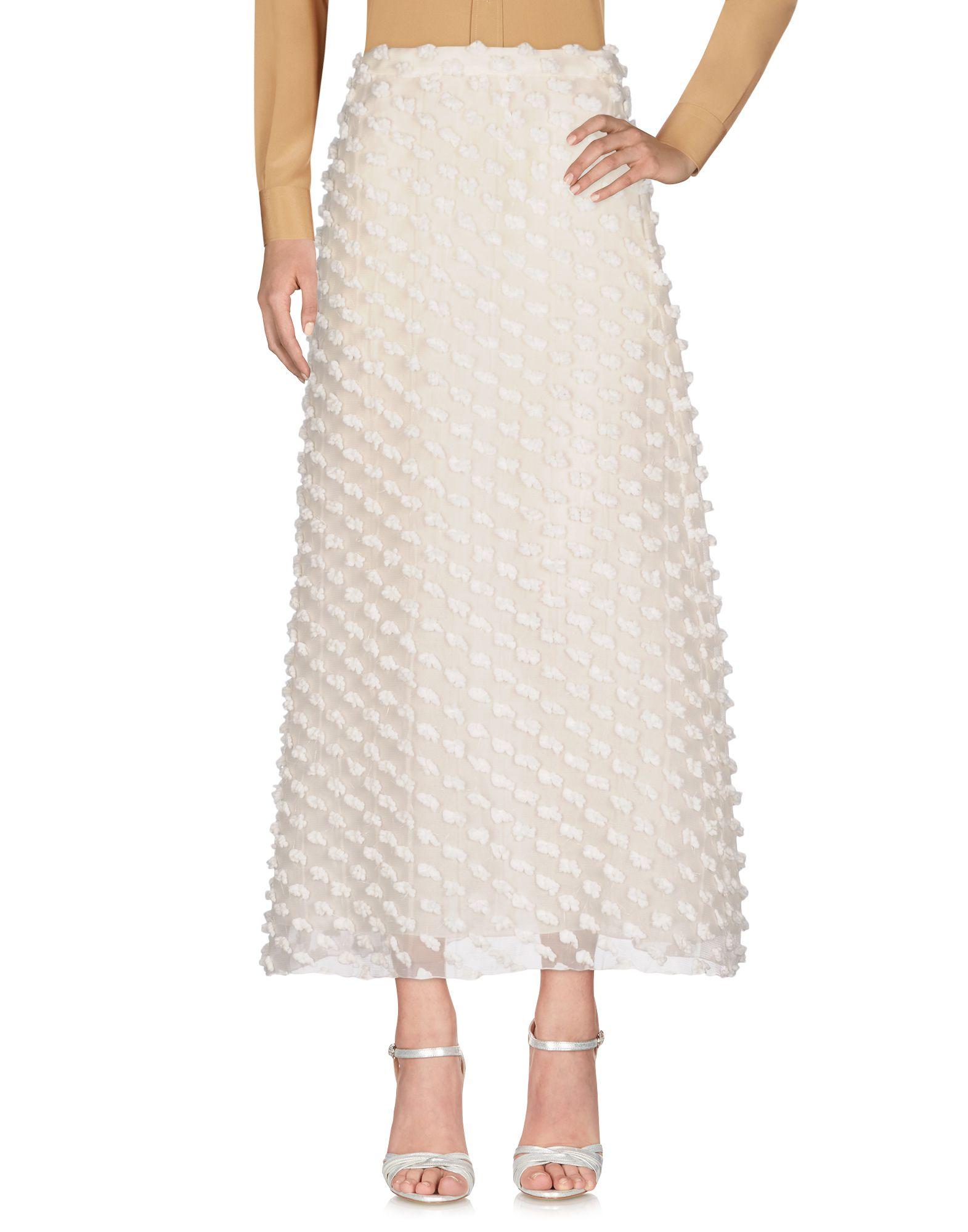 rochas бордовая юбка колокол ROCHAS Длинная юбка